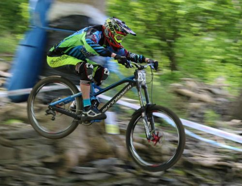 Fear of cycling downhill